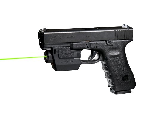 Viridian GLK Green Laser Sight Built for Glock's with Rails with Holster