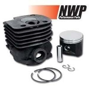 NWP Piston & Cylinder Assembly (50mm) for Husqvarna 362, 365, 371, 372, Jonsered 2071, 2171