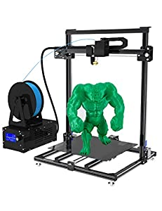 ADIMLab 3D Printer Assembled 24V Prusa I3 3D Printing Size 310X310X410 with Heat Bed, Glass, Control Box, PLA, Auto leveling Upgrade Available from Multiple Colors Printing, Filament Detection, Self-Assembly, 40g PLA Filament Included