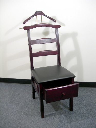 Proman Products VL16142 Chair Valet, Mahogany