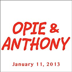 Opie & Anthony, David Duchovny, January 11, 2013