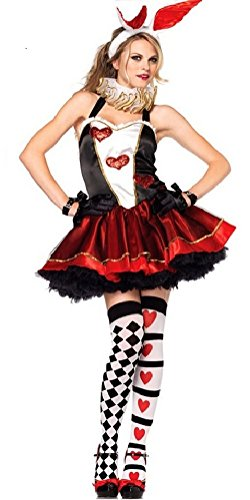 Alice in Wonderland Style Costume [ L size for Women with apron socks ] Bunny Girl