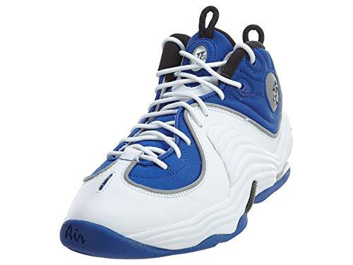NIKE Kids Air Penny II (GS) College Blue/Black/White Basketball Shoe 6 Kids US