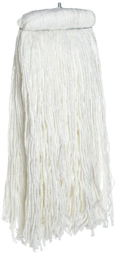 Rubbermaid Commercial Premium Bolt-On Cut-End Rayon Mop, 32-Ounce Size, White (FGF46900WH00) 32 Ounce Rayon Mop