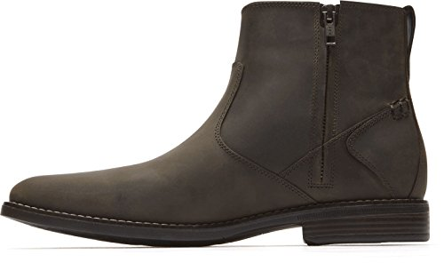 Uomo Zip Rockport Marrone Boot Traviss Shoes ZwdO1q