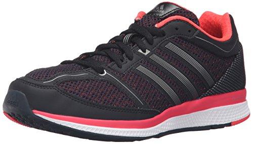 adidas Performance Women's Mana RC Bounce W Running Shoe, Black/Neo Iron Metallic F11/Shock Red S16, 9 M US