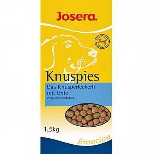 Josera Knuspies 1,5 kg, Comida seca, Comida para perros: Amazon.es: Productos para mascotas
