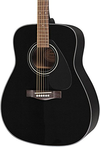 F335 Acoustic Guitar Black