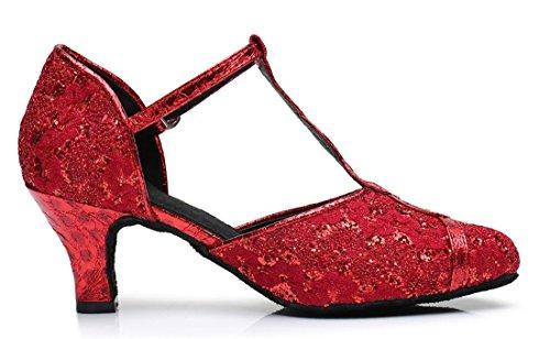 Heel e 6cm Red Moderno Joymod Donna Jazz MGM Hnqx4gC