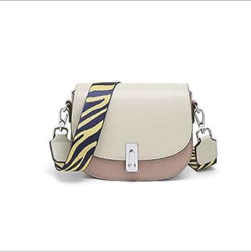 Bolso Mujer 2019 Nuevo Messenger Bag Fashion Saddle Bag PU