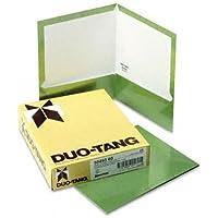 TwoPocket Laminated Folder 100Sheet Capacity Metallic Green