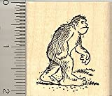 Big Foot Rubber Stamp