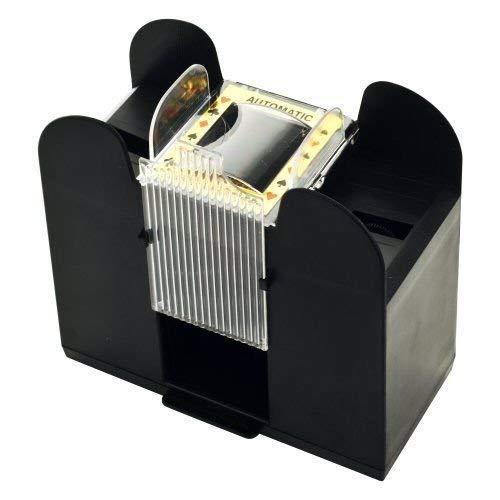 Card Shuffler : Casino Auto Automatic 6 deck Playing Card Shuffler