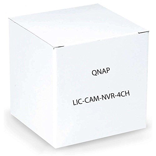 Price comparison product image Qnap 4-Channel License Pack for QNAP VioStor NVR (LIC-CAM-NVR-4CH)