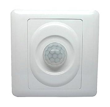 RedCrest (TM) casa luz LED Detector de movimiento PIR interruptor Sensor de movimiento por