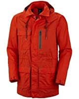 Columbia Men's Orange Rain Jacket