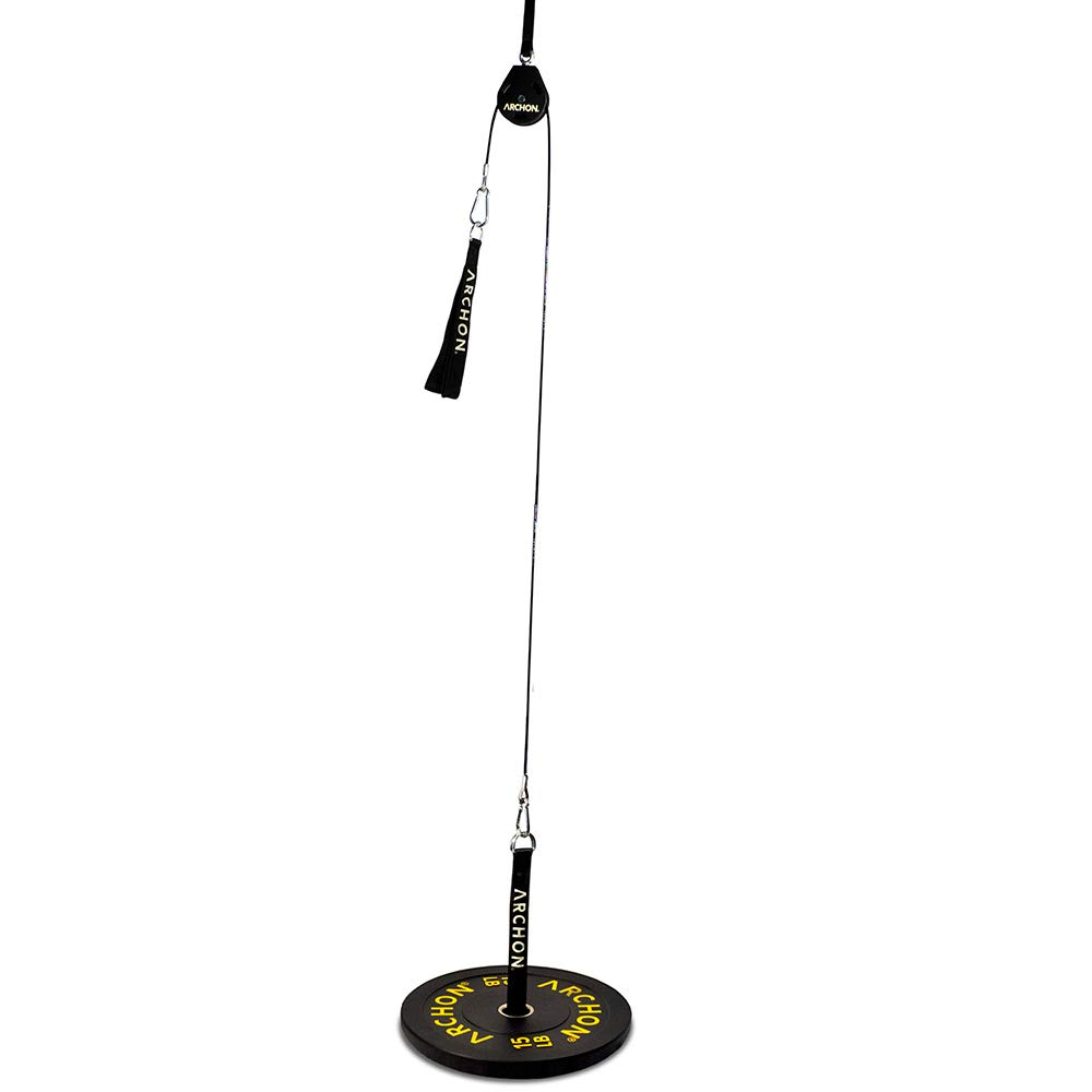ARCHON Fitness Single Pulley Cable Station Options (A: Single Pulley 70'')