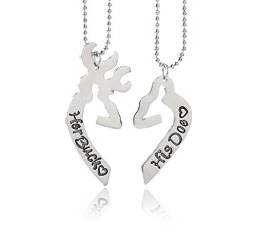 deer head necklace - 3