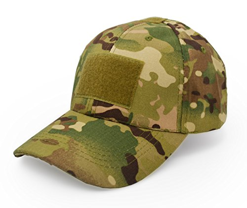 (UltraKey Military Tactical Operator Cap, Outdoor Army Hat Hunting Camouflage Baseball Cap 1 )