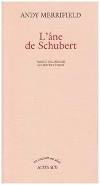 L'âne de Schubert par Andy Merrifield