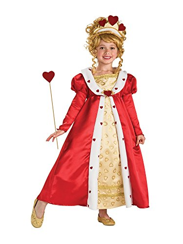 Alice In Wonderland Costume Age 10 (Rubie's Red Heart Princess Costume - Large (Ages 8 to)