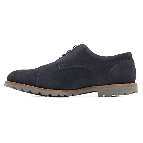 Mens Rocketter Channer Oxford Navy / Grigio