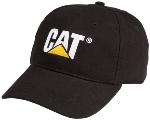 Caterpillar Men's Cat Trademark Cap, Black, One Size