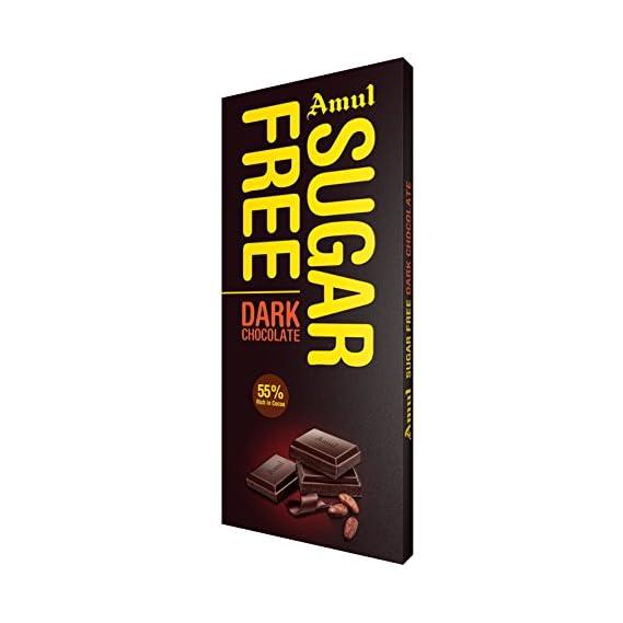 Amul Dark Chocolate - Sugar Free, 150g