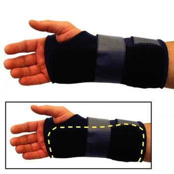 Benik 081586148 W-310 Wrist Splint, Right, Small, Shape,, () by Benik