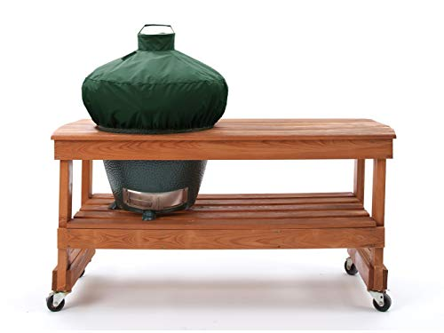 Covermates - Kamado Dome Grill Cover - 26 Diameter x 19H - Elite Collection - 3 YR Warranty - Year Around Protection - Green
