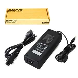 TOSHIBA Satellite M645-S4062 Cargador Adaptador - cable de alimentación europeo incluido - Bavvo® 120W Alimentación Adaptador para Ordenador PC Portátil