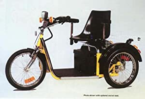 Palmer Outdoor Electric One Seater Mobility Scooter. Independence with G31 Deep Cycle Batteries by Palmer Industries