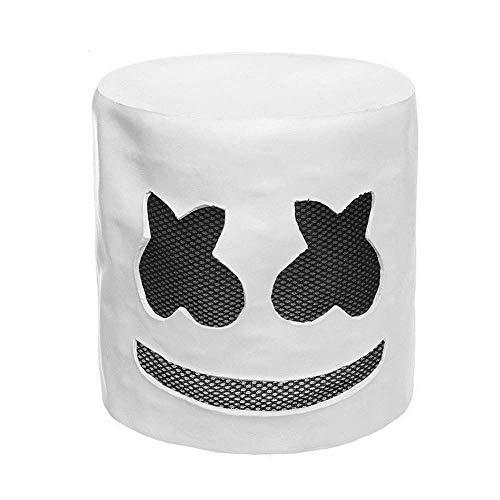 Smartey Bar Mask Helmet - Marshmallow Mask with LED Light, DJ Mask Light, Bar Music Props, Party Tools]()