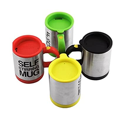 Buyerzone Self Stirring Coffee Mug Self Mixing Cup For Travelling Home Office