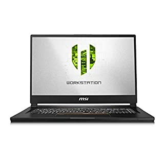 "CUK MSI WS65 Mobile Workstation Laptop (Intel i7-9750H, 64GB RAM, 2TB NVMe SSD, NVIDIA Quadro RTX 5000 16GB, 15.6"" 4K UHD IPS-Level 60Hz, Windows 10 Pro) Thin Bezel Notebook Computer"