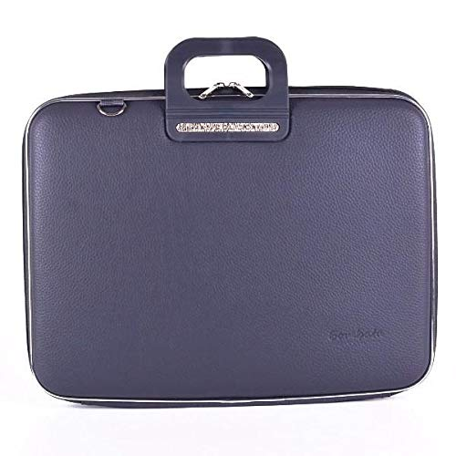 Firenze Briefcase for 17 INCH Laptop, Charcoal
