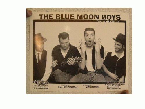 The Blue Moon Boys Press Kit Photo Nic Roulette