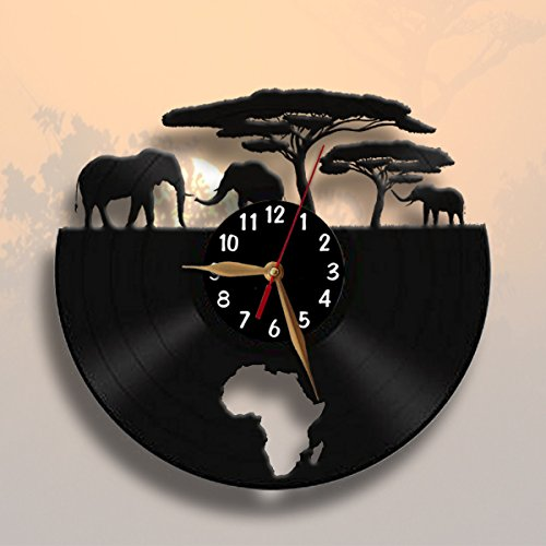 Elephant Wall Clocks Kritters In The Mailbox Elephant