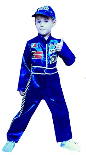 Toddler Pit Crew Racing Costume (Racing Driver Costume)
