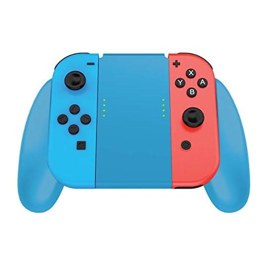 TALK WORKS Joycon Comfort Grip for Nintendo Switch – Joy-Con Controller Game Accessories Handheld Joystick Remote…