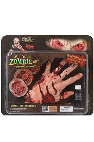 [Fancy Zombie Hand Pack Walking Dead Costume Accessory] (Halloween Little Dead Riding Hood Costume)