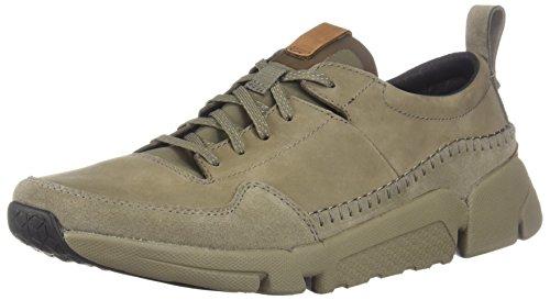 CLARKS Mens Tri Active Run Sneaker, Sage Nubuck, Size (Active Sneakers)