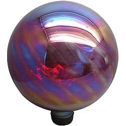 Garden Treasures 11.8-in Red Blown Glass Gazing Ball