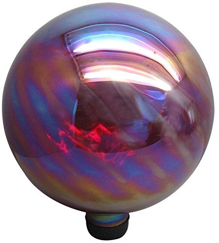 - Garden Treasures 11.8-in Red Blown Glass Gazing Ball