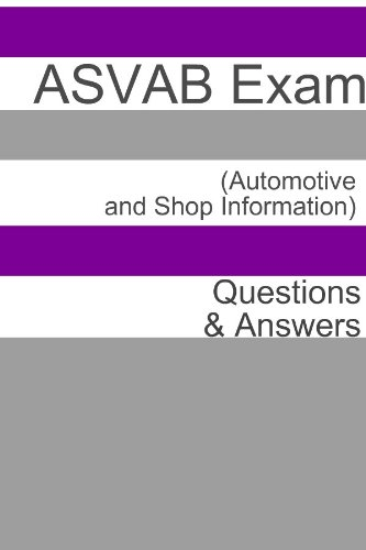 100+ ASVAB Exam (Automotive and Shop Information) Questions & - Exam Shop
