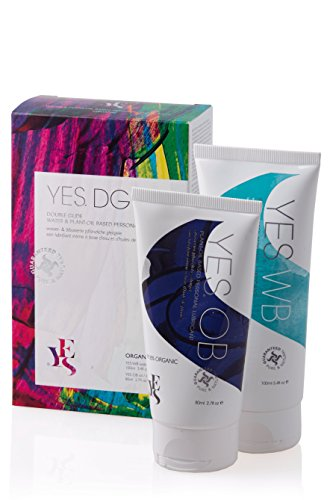 YES organic plant oil personal lubricants