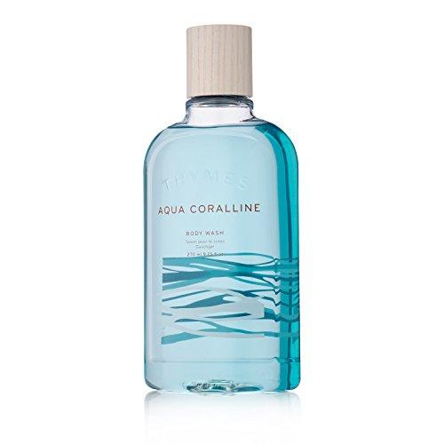 Thymes - Aqua Coralline Body Wash - Refreshing Luxury Shower Gel for Men & Women - 9.25 oz