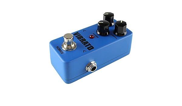 Kokko fvb2 Mini guitarra eléctrica monobloque Vibrato Pedal de ...