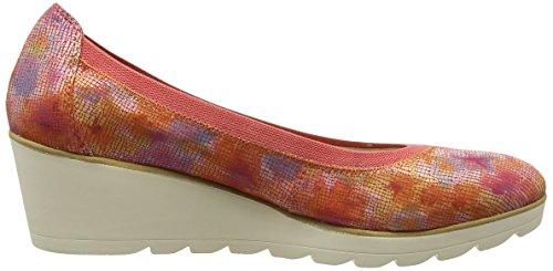 Premio Rojo 22427 Mujer Marco De Cuña Zapatos coral 507 Tozzi Multi Cf5w4wq6RU