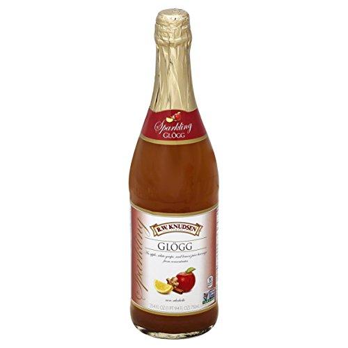 R.W. Knudsen Sparkling Glogg, Celebratory Juice, 25.4 fl oz by R.W. Knudsen